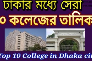 The 10 Best Colleges in Dhaka
